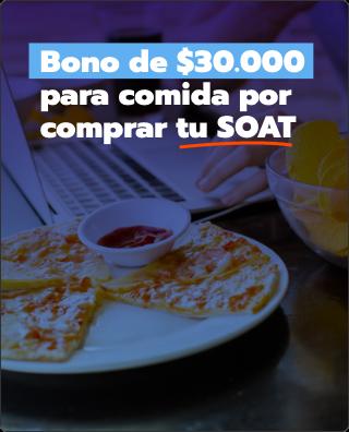 Bono de iFood por comprar el SOAT en Grupo R5